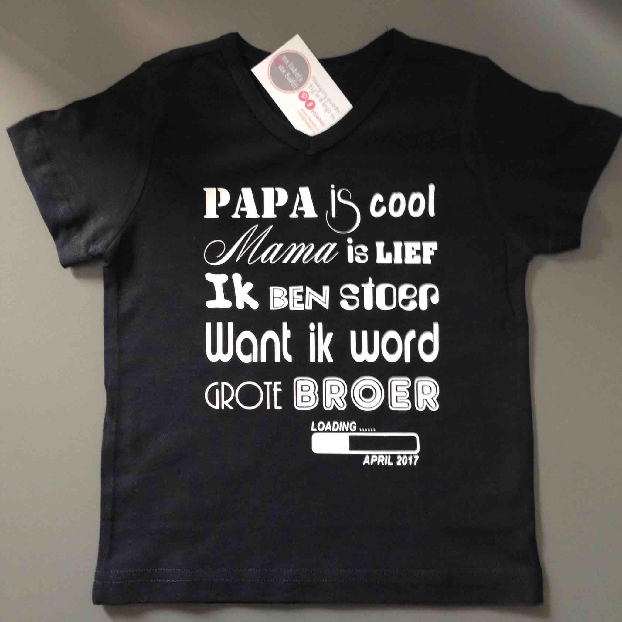 Genoeg T-shirt – ik word grote broer/zus | Babett | Gespecialiseerd in #GK18
